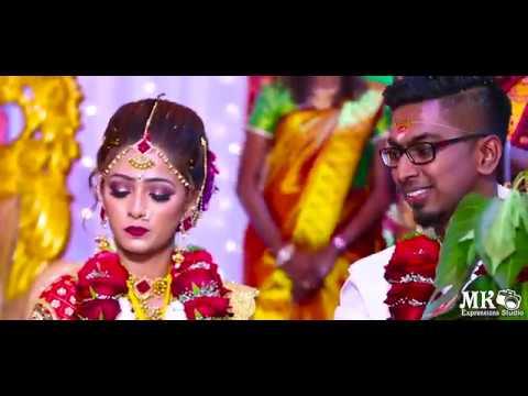 Beautiful Malaysian Indian Wedding of Vinoth ♥️ Hema BY:MK Expressions Studio (JB & Singapore)