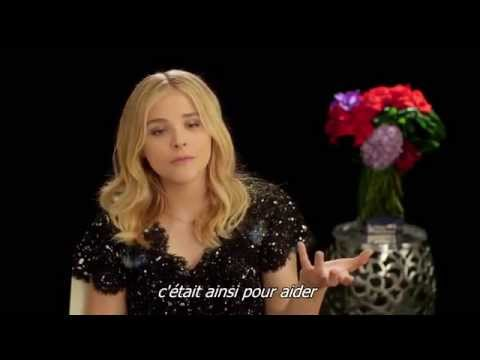 Interview Chloë Grace Moretz pour Si je reste / If I Stay (French Subtitles) HD