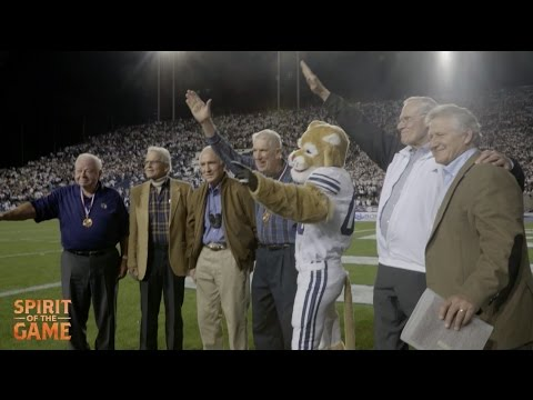 SPIRIT OF THE GAME - Original Mormon Yankees Honored at BYU Game - Friday, September 30th 2016