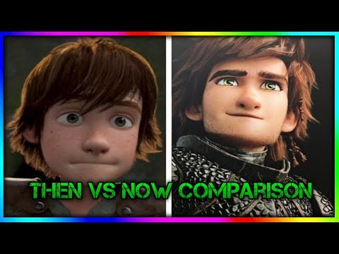 HOW TO TRAIN YOUR DRAGON | Then vs Now (HTTYD 1 to HTTYD THW)