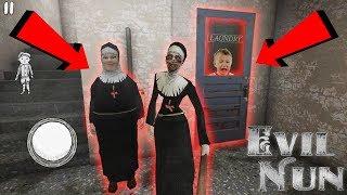 Новая часть Монахини - потерянные дети там внизу ! -  Evil Nun