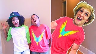 LOGAN PAUL vs Shasha and Shiloh! - Onyx Kids
