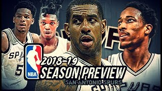 2018-19 NBA Season Preview: San Antonio Spurs: LaMarcus Aldridge | DeMar DeRozan | DeJounte Murray