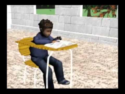 Vicarious reinforcement animation