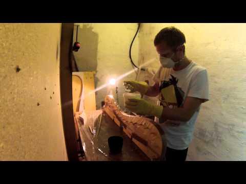 bogenbau mit glasfaser wie man sich einen wurfarm baut doovi. Black Bedroom Furniture Sets. Home Design Ideas