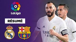 Résumé : Benzema magnifique, le Real Madrid s'offre le Clasico !