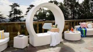 Modern Patio Outdoor Furniture, Patio Chaise Lounge Chairs, Wooden Chaise Lounge Chair