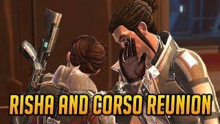 Swtor Risha And Corso Reunite With The Smuggler