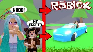 😢DONDO NOT WANT TO ADOPT ME FOR BEING POBRE🤑TO LOOKING AT MY LIMOUSY ADOPT ME - ROBLOX