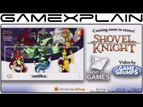 3 NEW Shovel Knight amiibo Revealed! (Specter Knight, King Knight, & Plague Knight!)