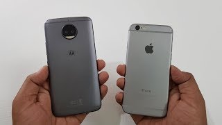 Moto G5s Plus vs iPhone 6 SPEED TEST | COMPARISON!!