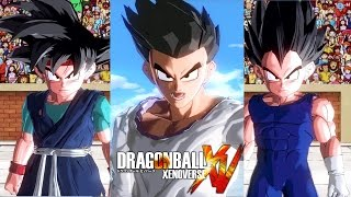 [PC] Dragon Ball: Xenoverse - (MODS) - Adult Goten , Goku Jr vs Vegeta Jr