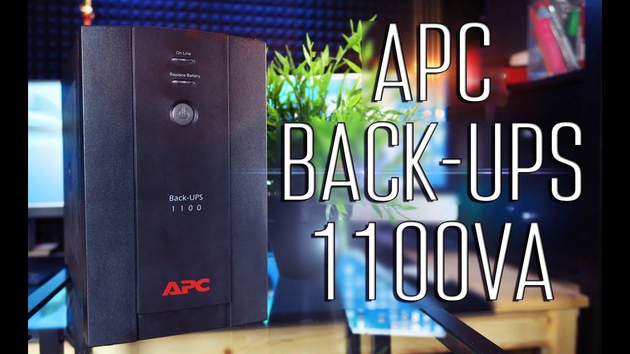 APC by Schneider Electric Back-UPS 1100VA - Обзор