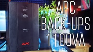 APC by Schneider Electric Back-UPS 1100VA - Обзор(Страница продукта -http://www.apc.com/products/resource/include/techspec_index.cfm?base_sku=BX1100CI-RS Купить такой ..., 2015-07-28T09:00:00.000Z)
