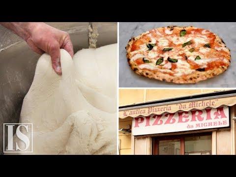 Ricetta Pizza Napoletana Da Michele.La Pizza Napoletana Da Michele Youtube