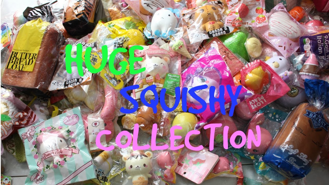 Squishy Collection 2016 : HUGE SQUISHY COLLECTION 2016KLS~BAHASA INDONESIA - YouTube