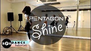 "Download Video PENTAGON ""Shine"" Dance Tutorial (Chorus) MP3 3GP MP4"