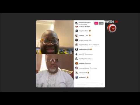 Full video of Dele Momodu - Instagram live with Senator Dino Melaye