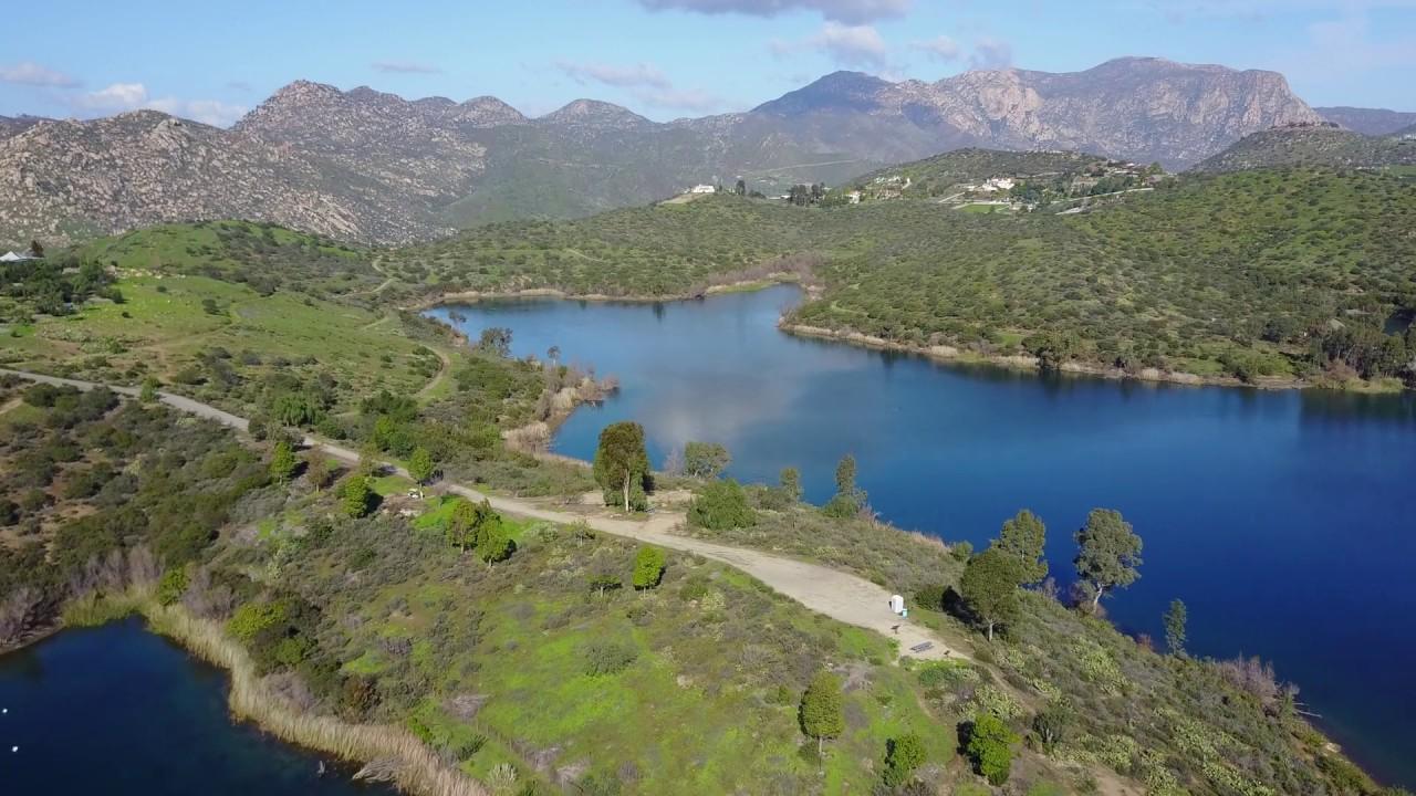 Lakeside ca lake jennings from drone dji mavic pro for Lake jennings fishing