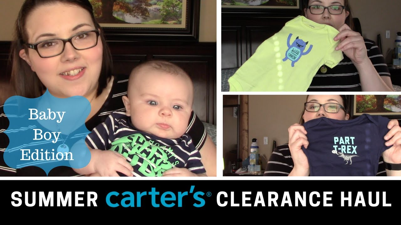 Summer Carters Clearance Haul For A Baby Boy