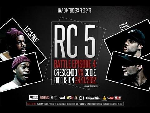 Rap Contenders - Edition 5 - Crescendo vs Godié