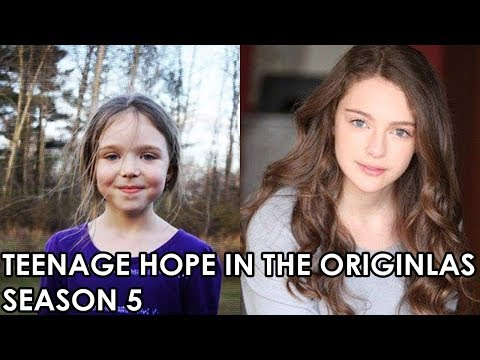 THE ORIGINALS CASTS DANIELLE ROSE RUSSELL AS TEENAGE HOPE FOR SEASON 5  SPOILER