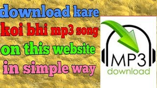 How to download mp3 songs 2019