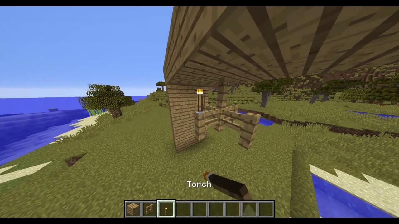 Minecraft Tutorial How To Make A Chandelier