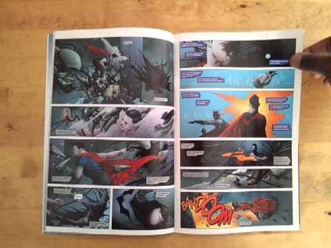 Unboxing Batman Superman #1 (DC Comics - The New 52)