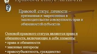Презентация на тему Личность, право, общество, государство  Правовое государство