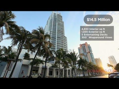 Miami Real Estate | $14.5 Million Luxury Condo for sale in Miami Beach **SOLD**