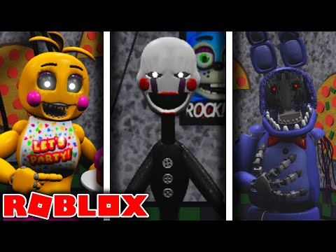 Download NEW Toy and Withered Animatronics in Roblox Archived Nights FNAF Roleplay FNAF 2 Update!