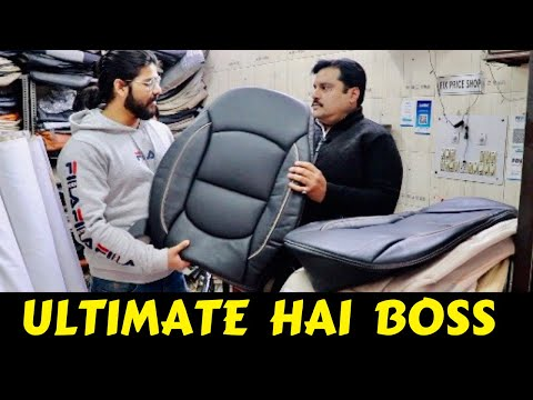INDIA 🇮🇳 BEST SEAT COVER WITH HUGE KNOWLEDGE | CAR SEAT COVER | CAR INTERIOR | PAN INDIA DELIVERY