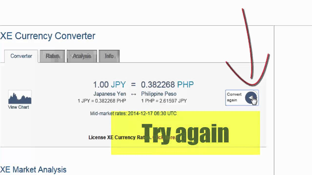 Yen To Philippine Peso Youtube