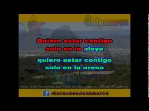 Sebastian   Contigo en la playa  ( karaoke )  (PRODUCCIONES ROBERTO)