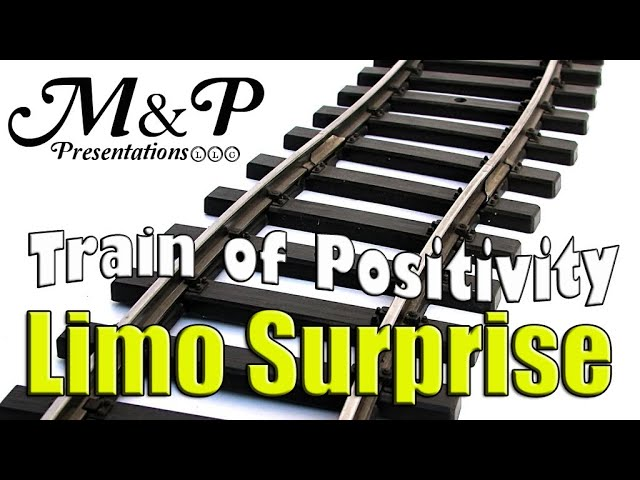 Free Limo Rides for Strangers at the Bus Stop | #TrainOfPositivity M&P Presentations LLC