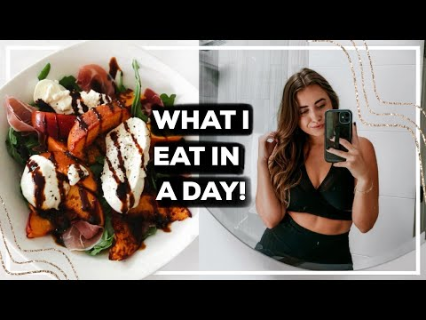 What I Eat In A Day (easy + *realistic* healthy meals!) | 2020