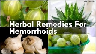Remedies For Hemorrhoids
