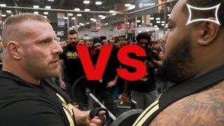 Swimhack VS Maddox BENCH MAX OUT! | 700lb BENCH PRESS | ANIMAL CAGE 2019