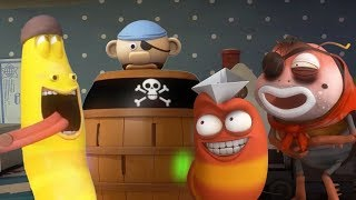 LARVA - DISCO SPACE PIRATE | Cartoons For Children | LARVA Official