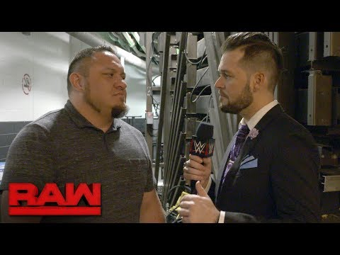 Samoa Joe is ready for SummerSlam to erupt early: Exclusive, Aug. 14, 2017