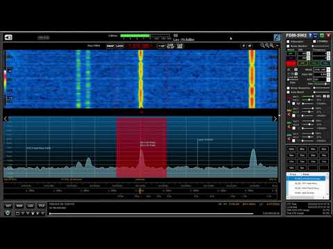 KYRGYZ Radio 1 4010.09 kHz, Bishkek, Kyrgyzstan, super clear signal out in the woods