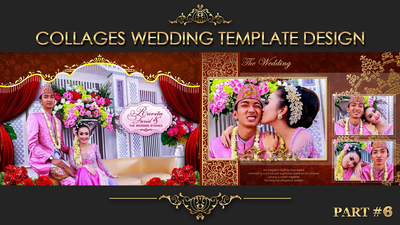 Elegant inspiration collages album wedding photoshop part 6 youtube elegant inspiration collages album wedding photoshop part 6 maxwellsz