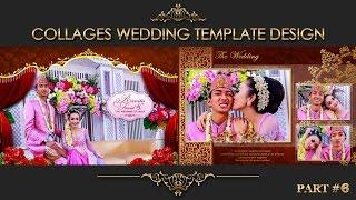 Elegant Inspiration Collages Album Wedding Photoshop Part 6