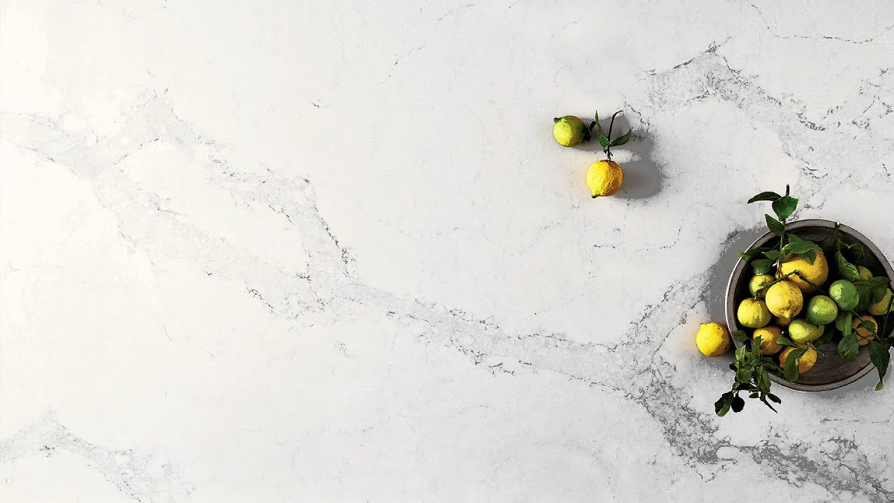 Veins Calacatta Nuvo 5131 By Caesarstone Youtube
