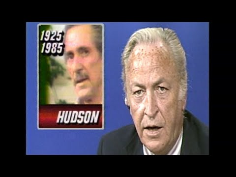 Rock Hudson Dies Of AIDS At 59 |  Watch Original 1985 WABC News Coverage