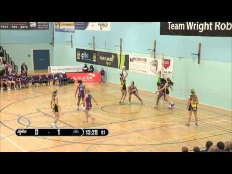VNSL 2016 - Manchester Thunder v Loughborough Lightning