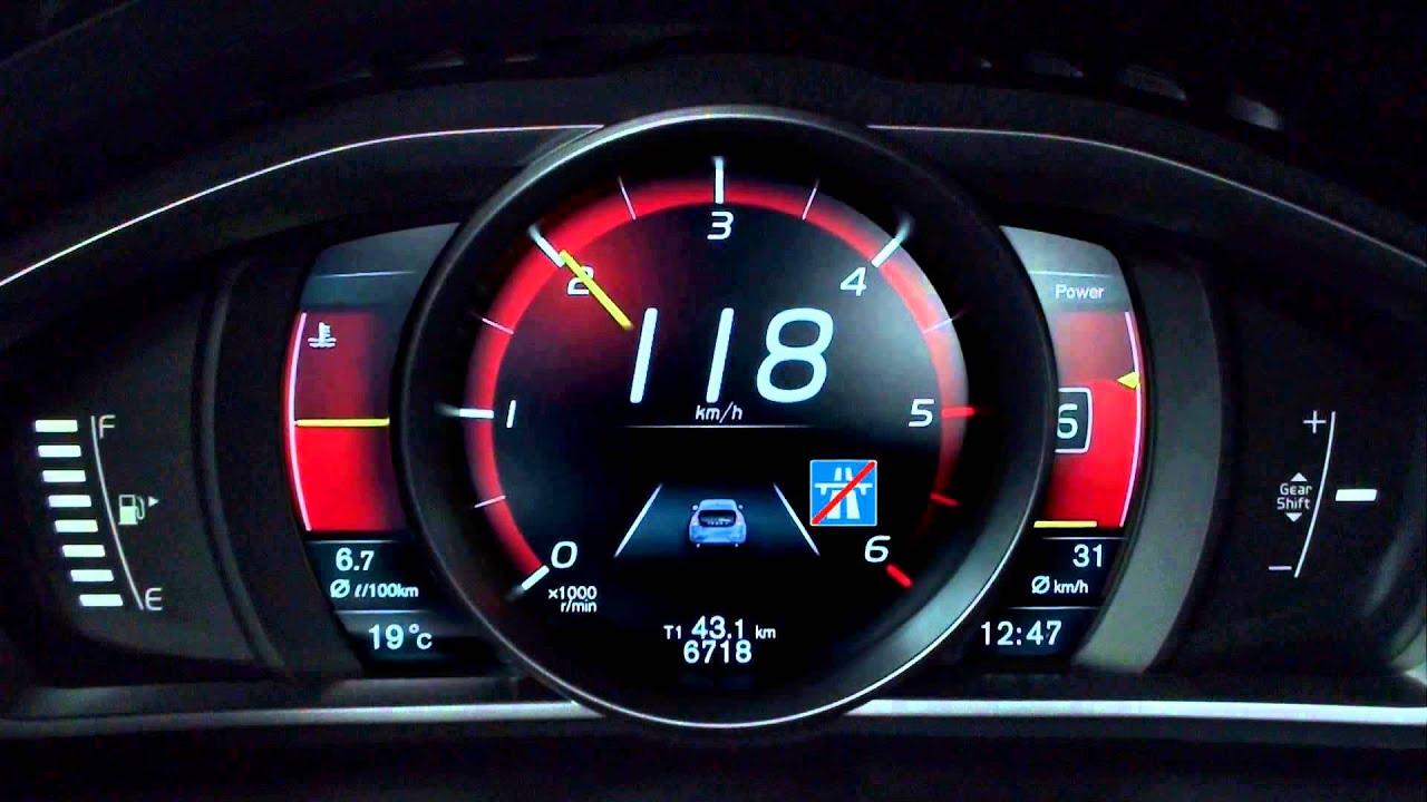 Adaptive Digital Display The Volvo V40 Youtube
