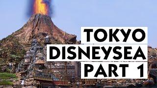 A Day in Tokyo DisneySea! | FIRST TOKYO DISNEYLAND TRIP! - Part 1! 【東京ディズニーシー】