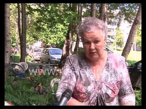 В Ленинске-Кузнецком приступили к ремонту подъездов